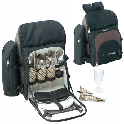 Kimberley 4 Setting Picnic Backpack