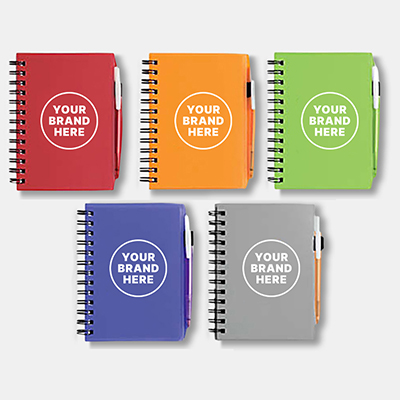 Bic Plastic Notebook (Small)