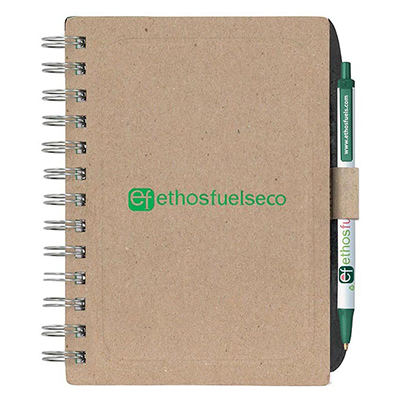 Bic Recycled Chipboard Notebook