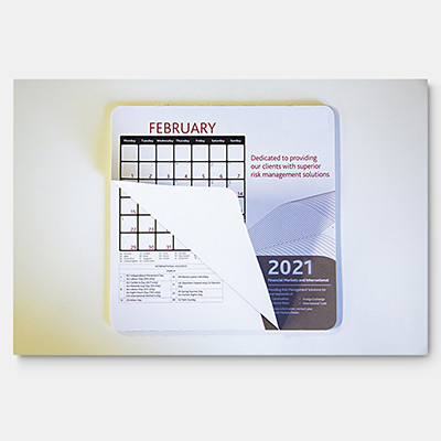 Calendar Mouse Mat (230mm x 190mm)