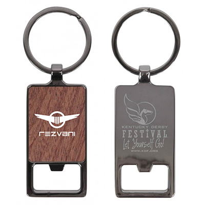 Axil Rectangle Keychain