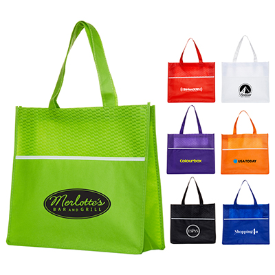 Wave Strider Tote with Pocket