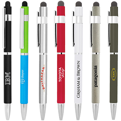 BND70XLS HEX STYLUS TWIST METAL BALL PEN