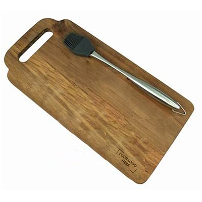 Great Outdoors Marinating Brush and Board Set