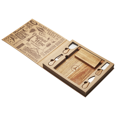 St. Andrews Magnetic CheeseBoard & Knife Set