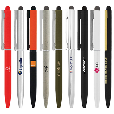 BND78XLS SARI STYLUS TWIST METAL BALL PEN