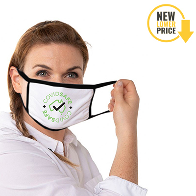 Cotton Face Masks – 2 Layer Factory Direct