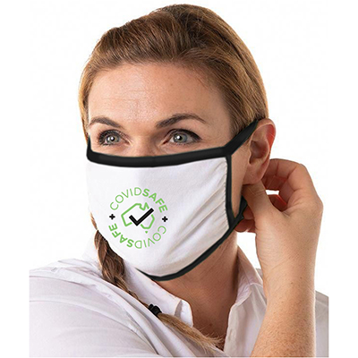 Cotton Face Masks – 3 Layer Factory Direct