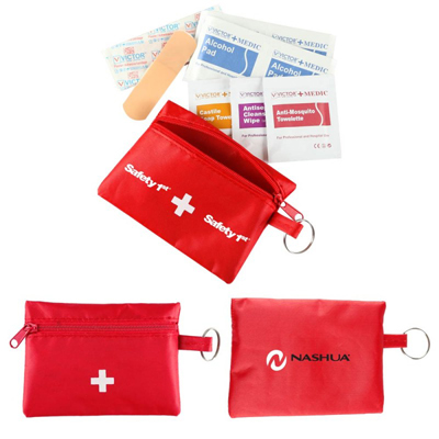 First Aid Travel Kit - 22 Piece