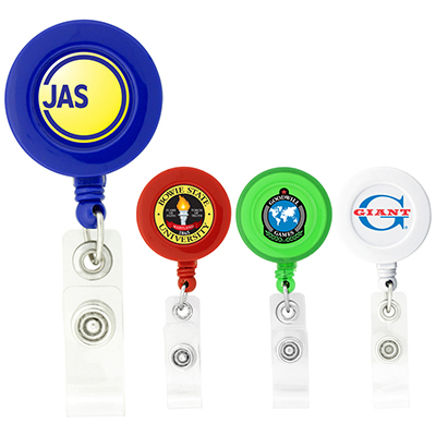 Round Badge Holder