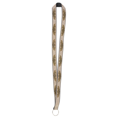 Glitter Lanyards - 19mm Wide Gold Glitter