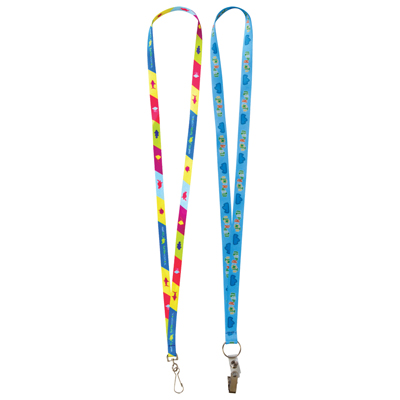 Fast Track Sublimation Lanyards - 10mm Wide
