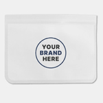 PEVA Reusable Food Storage Bag (26 cm x 20cm)-Logo