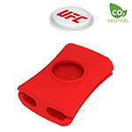 Snappi 1 Piece Cable Manager (Red)-Logo