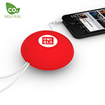 Spinni Cable Organiser (Red)-Logo