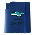 Leatherette Small Cover & Notebook-Logo