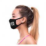 2-Ply Deluxe Cooling Fabric Face Mask- Factory Direct-Logo