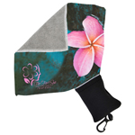 Micro Fibre Towel with Pouch-Logo