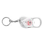 Sandal Shaped Bottle Opener Keychain-Logo
