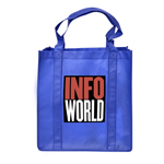 Shopping Tote Bag with Gusset-Logo