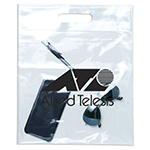 Clear Hand Tote-Logo