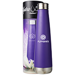 Mirror Finish Hydro Soul Lotus Bottle-Logo