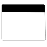 Flip-Top Mouse Mat (230mm x 190mm x 1mm Natural Rubber)-Logo